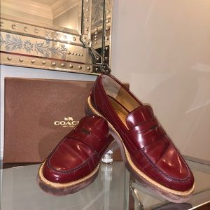 Coach Penny Loafers
